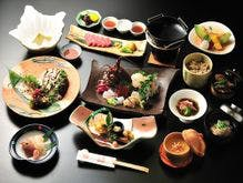 伊勢えび、あわび、松阪牛の饗宴