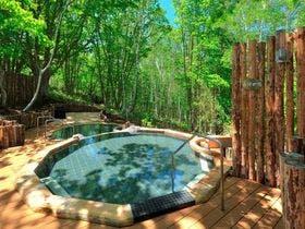 水上温泉で露天風呂からの景色が素晴らしい温泉宿を教えて下さい。