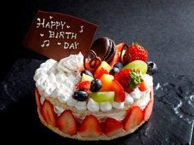 望楼オリジナルケーキ