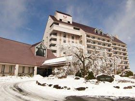 冬のホテルハーヴェスト天城高原