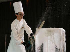 氷の彫刻~ICE CARVING
