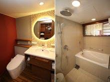 最上階オーシャンメゾネット バスルーム