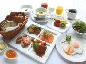 朝食セットメニューの一例