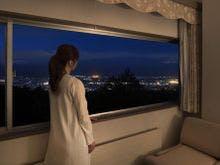 室数限定・安曇野の夜景が臨めるお部屋。