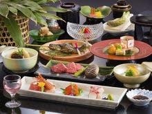 日本海と信州の恵み会席