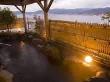 親子で上諏訪温泉を計画してます。露天風呂があるホテルがあれば教えてください。