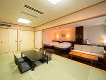 【最上階デザイナーズ和洋室】温泉風呂付