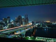 大阪湾側の夜景 ※イメージ
