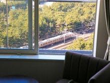電車が好きなお子様も大喜び♪客室から♪