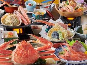 冬の味覚「蟹会席」(イメージ)