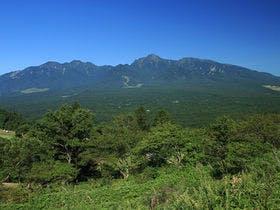 平沢峠からの八ヶ岳