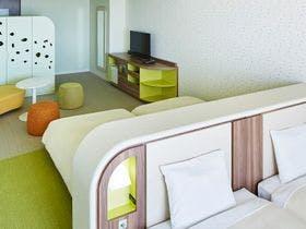 大浴場と風通しの良いバルコニー付客室(36平米以上)便利な仮チェックインでプラナを満喫!素泊まり-2