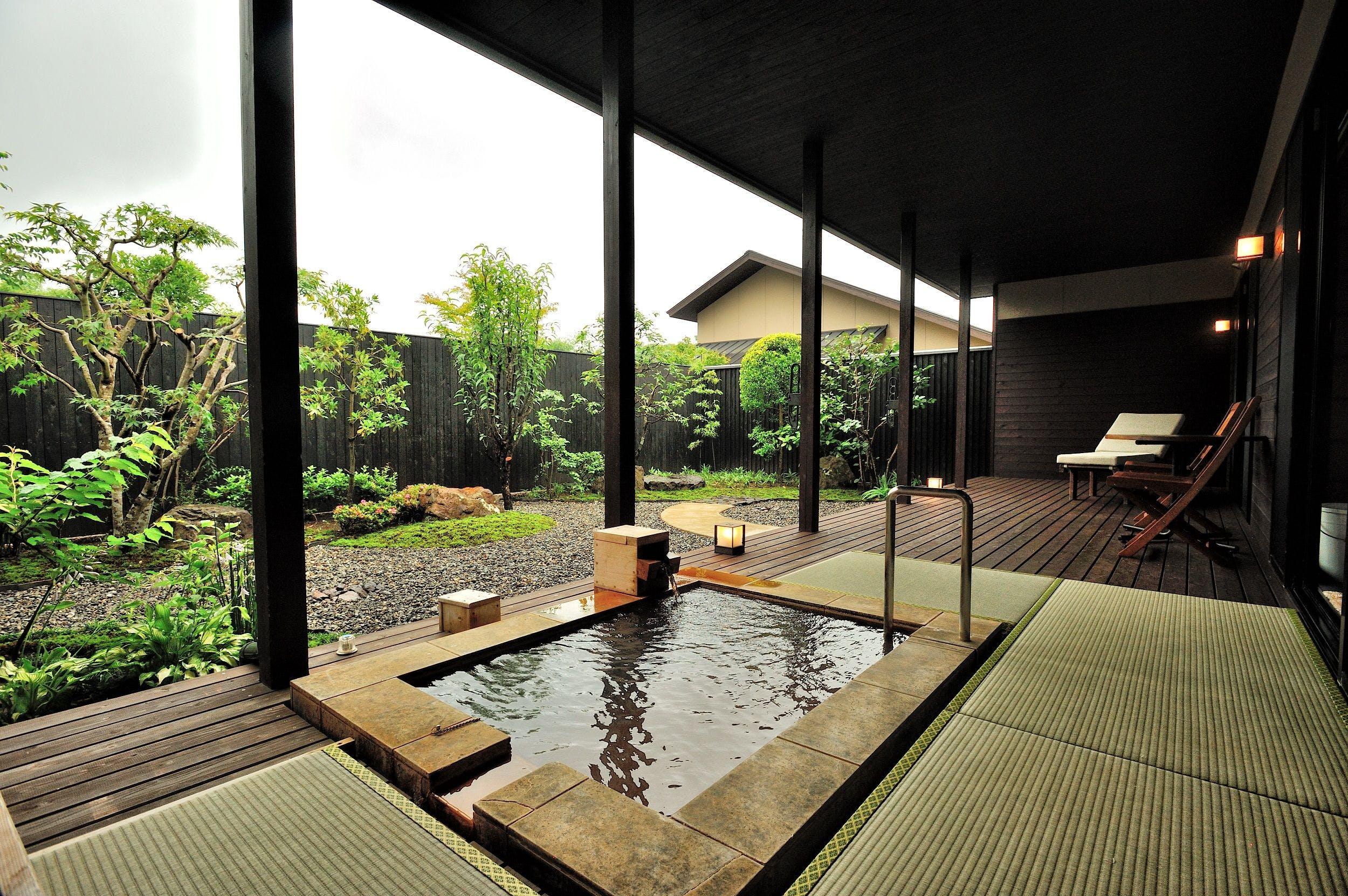 九州 客室 風呂 露天 付き
