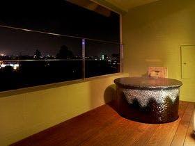 別館デラックス室露天風呂