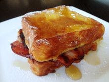 BFT(Bacon&French toast)