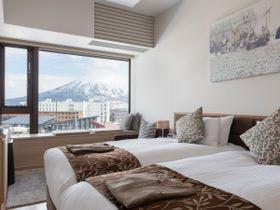 ヨウテイビューの寝室一例