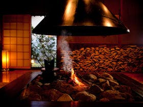 湯布院温泉で宿泊者が利用できる貸切風呂のある宿ってありますか?