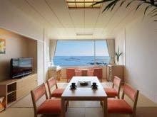 【禁煙】上層階 琉球畳の和室