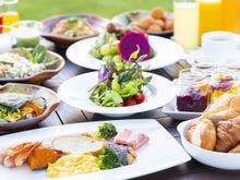 和洋ビュッフェのご朝食