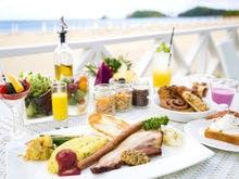 潮風の朝食