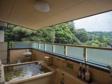 古代紫・萌木色 ひのき露天風呂
