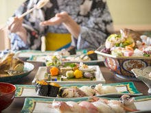 九谷焼で頂く懐石料理