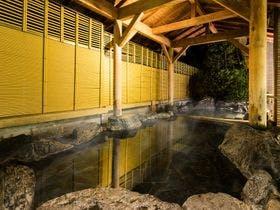 2階男性大浴場露天風呂【かじかの湯】