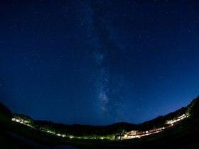 *ブルーベリーヒル勝浦の夜景