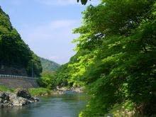 初夏・小国川