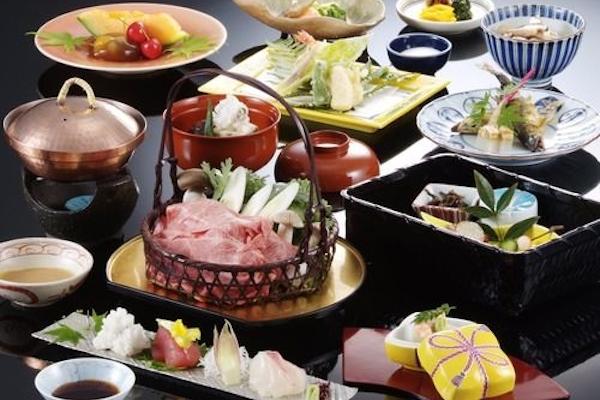 びわ湖花街道 料理一例