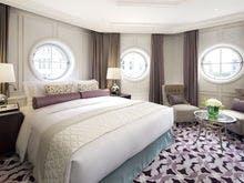 メゾネットスイートキング 寝室
