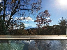 浅間山まで見晴らせる開放感あふれる景色