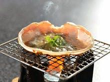 カニ味噌の甲羅焼き