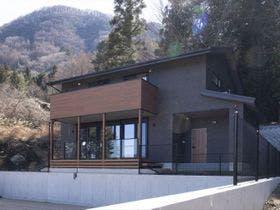 Villa Blue富士河口湖施設全景