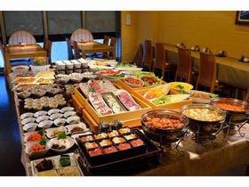 朝食会場 1階和食処 「かん東」