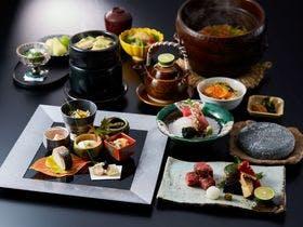 青ヶ島産和牛のフィレ-お肉メインのプラン