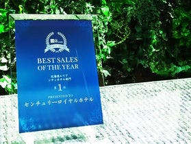 BEST SALES OF THE YEAR 2017 第1位