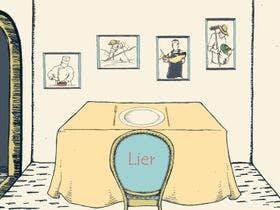 今回の美食ディナーのテーマは「Lier」
