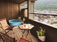 【酔帆楼-露天風呂付客室】-和風ツイン302