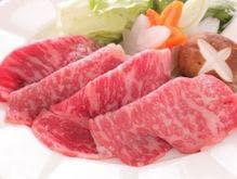 【福島牛しゃぶしゃぶ】一番人気の名物料理