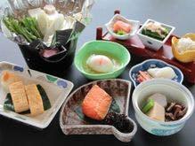 【朝食】福島の旬を揃えた朝食です