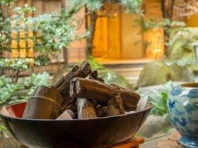 カップルで春の修善寺温泉!緑溢れる露天風呂