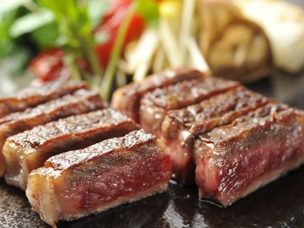 【米沢牛サーロインステーキ】
