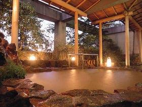有馬温泉でお風呂設備が充実している宿を教えてください