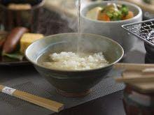 朝食:野菜旨出汁のお茶漬け