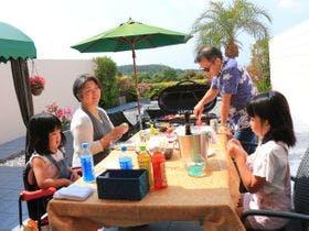 沖縄の家族のバカンス