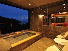 温泉かけ流し風呂