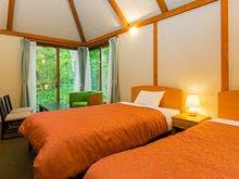 戸建て宿泊棟「ふくろうの森」客室一例