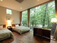 別荘タイプ「ザ・コテージ」ベッドルーム