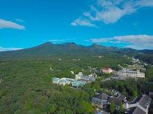 標高750Mに位置する総合リゾートホテル